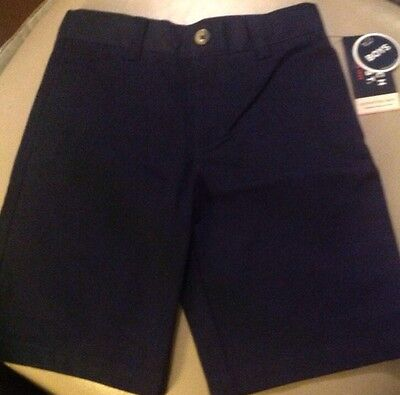NWT French Toast® Boys' Short Uniform - Color: Navy Size: 10 Official Schoolwear