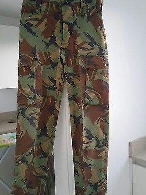 British Army issue DPM jungle combat trousers