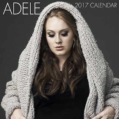 ADELE Calendar 2017 With Pull Out Poster