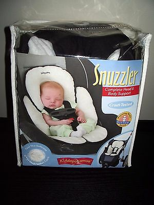 Kiddopotamus Infant Snuzzler Head/Body Support for Car seat/Stroller