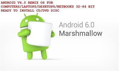 Android 6.0 Marshmallow Remix OS Optimized For Computers - Desktops - Laptops