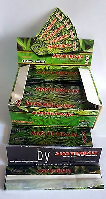 AMSTERDAM King size SUPER THIN Quality 100% FLAX Rolling Dutch Rizla Paper