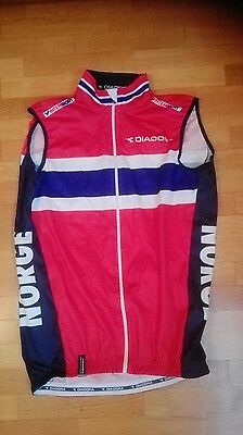 vest gilet smanicato wind rain norge norway national team