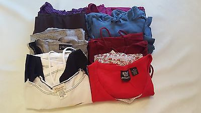 Lot of Women's Maternity Clothes- 8 pieces 1 skirt, 6 shirts and 1 dress!!!