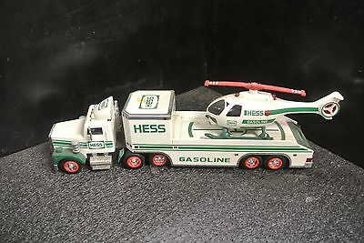1995 Hess Truck And Helicopter Toy
