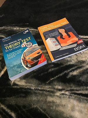 Driving Theory Test Books (DSA & BSM Official)