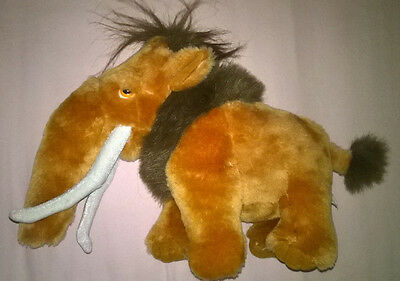 """Manny the Woolly Mommoth - Ice Age - Soft Toy - 13"""""""