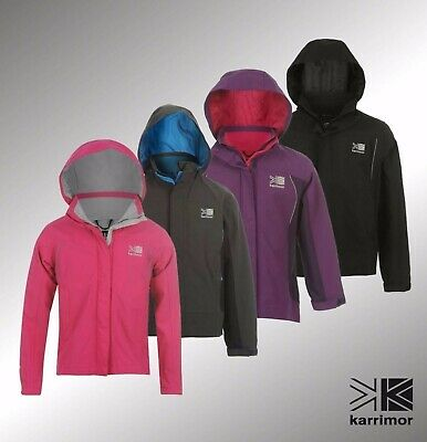 Junior Boys Girls Karrimor Waterproof Urban Weathertite Jacket Top Size Age 7-13