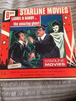 Laurel And Hardy In The Amazing Ghost 8mm Film