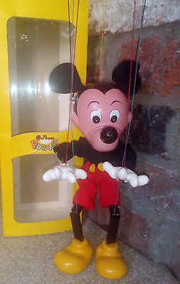 Pelham puppet Mickey Mouse beautiful walt disney puppet and in original box