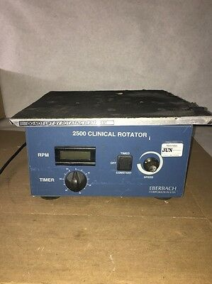 Eberbach 2500 Clinical Rotator with Speed Control and timer