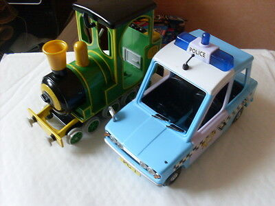 Postman Pat Pc Selby Police Car And Rocket Train   #2