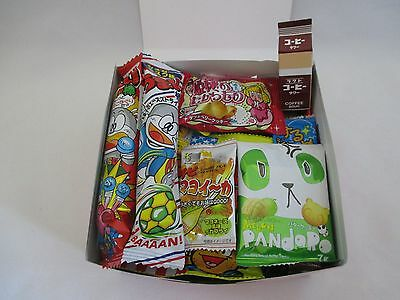 Japanese candy DAGASHI Pack 32pcs  Kracie Neruneru,Fried potato,Umaibo,Choco