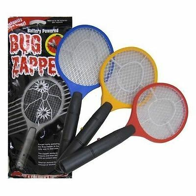 Electric Fly Insect Swat Swatter Bug Mosquito Wasp Zapper Killer Electronic New