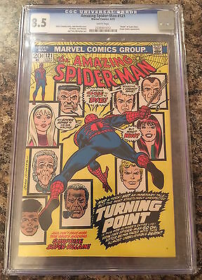 AMAZING SPIDER-MAN #121 Death of Gwen Stacy CGC 8.5 white pages CANADA SELLER