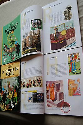 Tintin : collection complète Total 6 tomes + dossiers