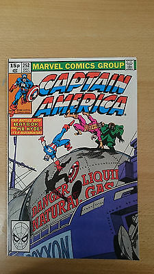 Marvel Comics Captain America  #252 December 1980 VF+ first print