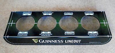 Guinness Rugby Lineout Glass Stand