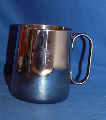 Old Hall polished stainless steel tankard
