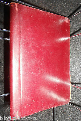 The Excelsior Diary for 1940 - Vintage American Pocket Diary (Partially Used)