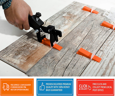 Shmox Tile Levelling Spacers and clips for  Levelling System 1.5mm Qty 2000