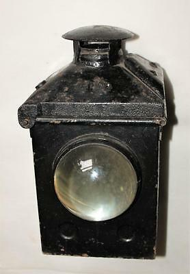 Vintage Br (M) Railway Lamp / Signal Light /  2 Piece / Burner /