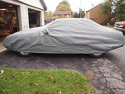 New 1986-93 Ford Mustang Coupe 4-Layer Outdoor Car Cover - Gray