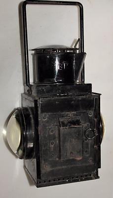 Vintage Br Railway Lamp / Signal Light / Burner