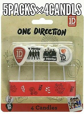 5 Packs×4 Birthday Party Candles 1D ONE DIRECTION