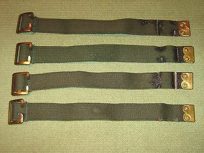 Military Army Land Rover Pioneer Straps X4 For Tailgate Tool Kit