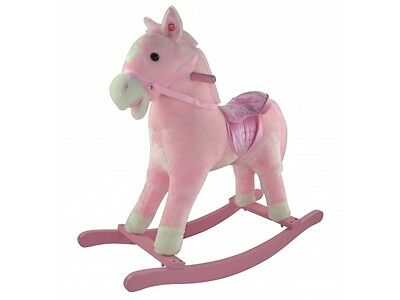 Princess Rocking Horse Bonito Bebé New In Box