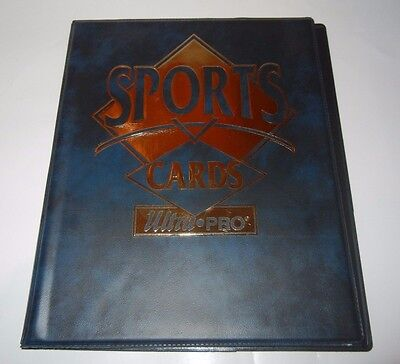Ultra-Pro Sports Cards Blue 4 Pocket 10 Page Mini Binder Portfolio Album