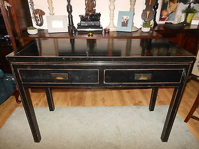 Absolutely Stunning LOMBOK Canton Console/Dressing Table NO POST collect