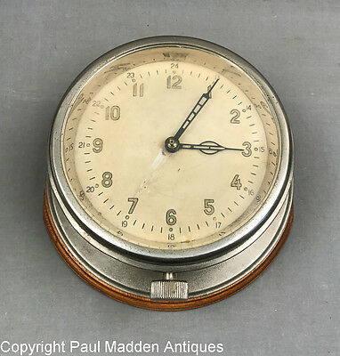 Vintage 8-Day Ship's Clock