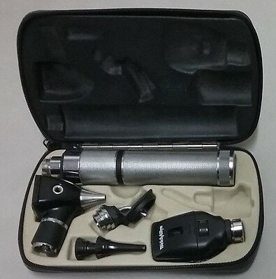 Welch Allyn 3.5 Otoscope Ophthalmoscope Portable Diagnostic Set Kit Rechargeable