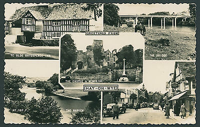 Hay on Wye. Multiview by Francis Frith. Breconshire