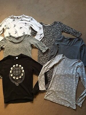 Bundle of womens clothes Size 8-S. H&M, River Island, New Look. Sweatshirt,Dress