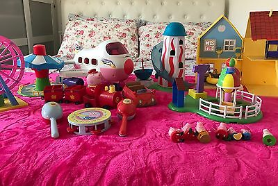 Large Peppa Pig Toys Bundle