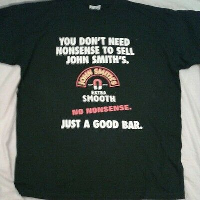 New  John Smiths T-Shirt 100% Cotton  Heavy X-Large