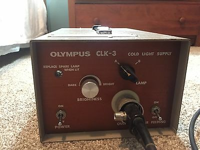 Olympus CLK-3 Cold Light Supply (Light Source)