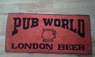 Bar Beer Towel  Pub World London  Beer
