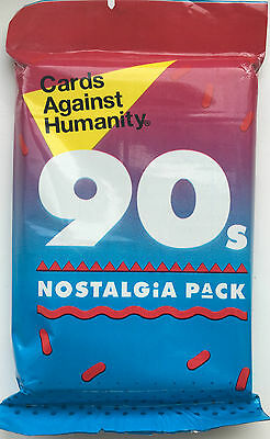 CARDS AGAINST HUMANITY 90S expansion NOSTALGIA PARTY GAME nighh 00