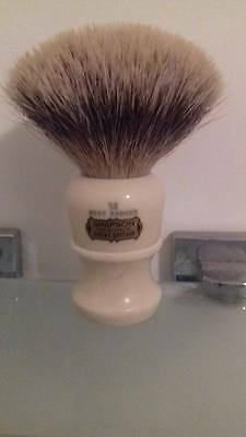 Simpson best shaving brush 58 series Ideal with vintage Gillette's