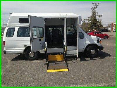2006 Ford E-Series Van Commercial VAN WHEELCHAIR HANDICAP HIGH TOP POWER RAMP 2006 Commercial Used 5.4L V8