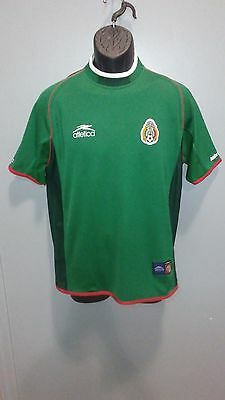 SELECCION MEXICANA ATLETICA mexico jersey SMALL world cup 2002 used ... 483818093c9aa
