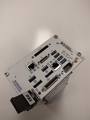 National INstrument PXI-8115 2.5 GHz Dual-Core PXI Controller