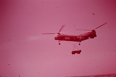 SLIDE USAF ARMY Marines 1956 Post KOREA Planes Helicopters Missiles DRONE WOW