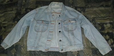 Old Arizona Jeans Company Jean Jacket, Size L 14 Girls