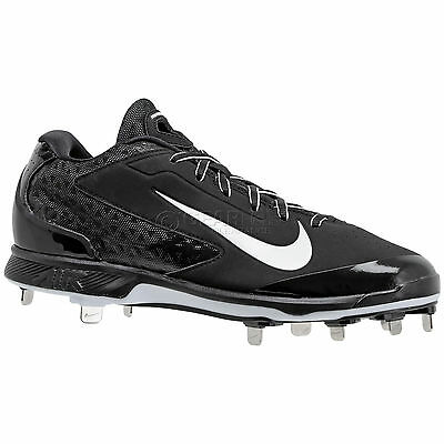 New Nike Air Huarache Pro Low Metal Mens Baseball Cleats - Black - Size 13.5