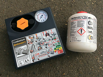 Continental Tyre Repair Kit (New) ContiMobilityKit Compressor + Sealant